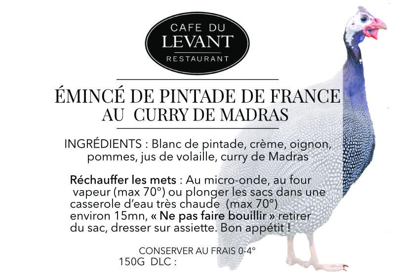 Plats à l'emporter   Café du Levant